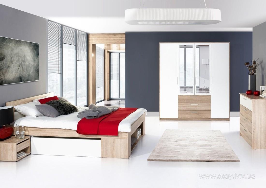 Комплект спальні Ріко