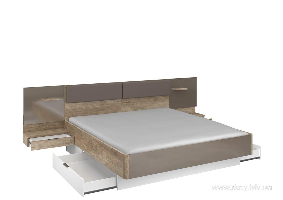 Ліжко  180 (без вкладу) Капрі