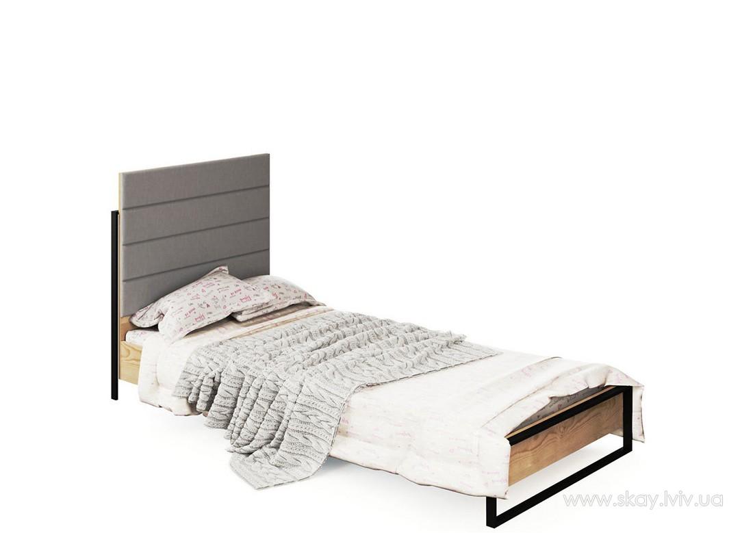 Ліжко 2-сп 1,6 Лофт