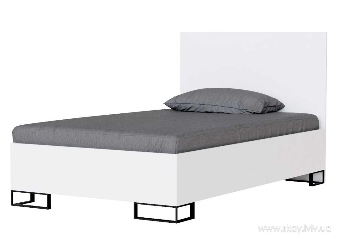 Ліжко Аскет 120 біла аляска