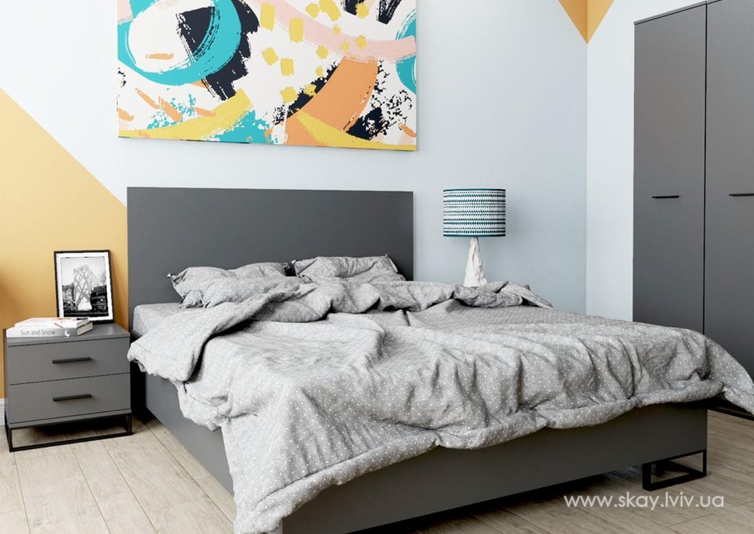 Спальня Аскет графіт
