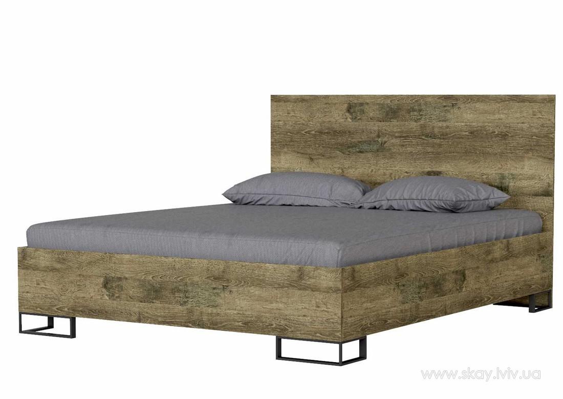 Ліжко Аскет 160 дуб фрегат