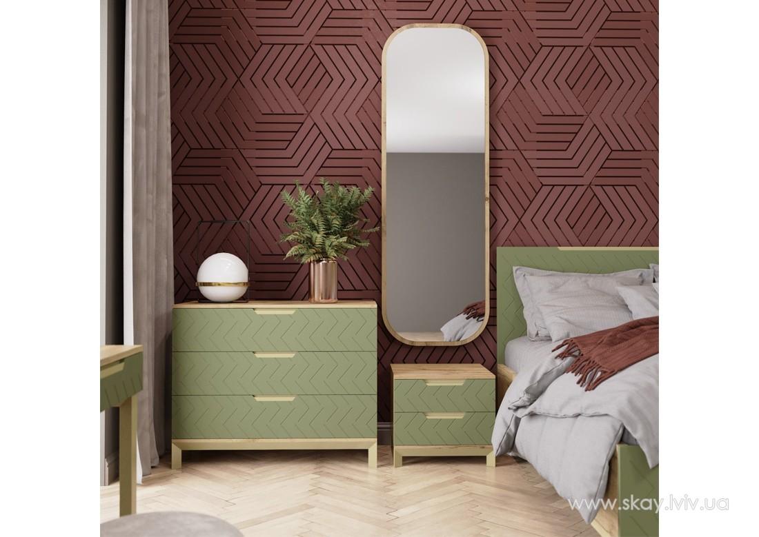 Спальня Сван балі зелений