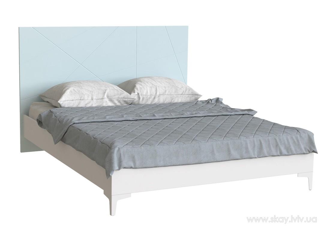 Ліжко 160 Пікасса блакитна лагуна