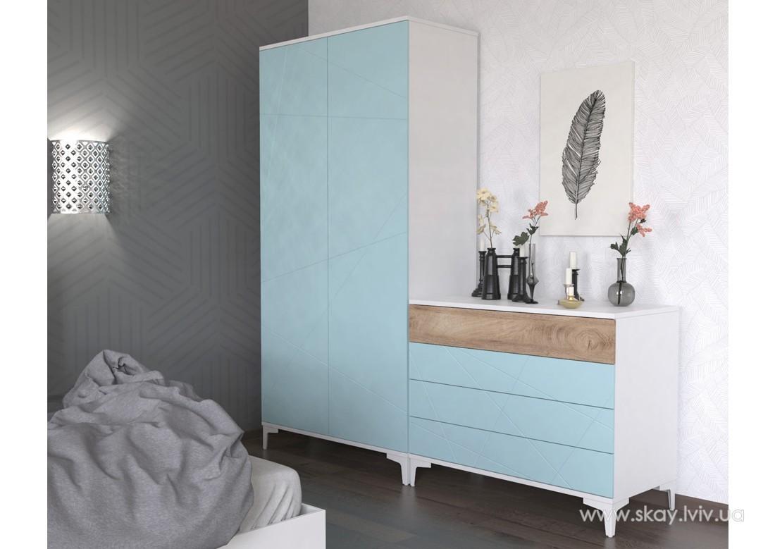 Спальня Пікасса блакитна лагуна