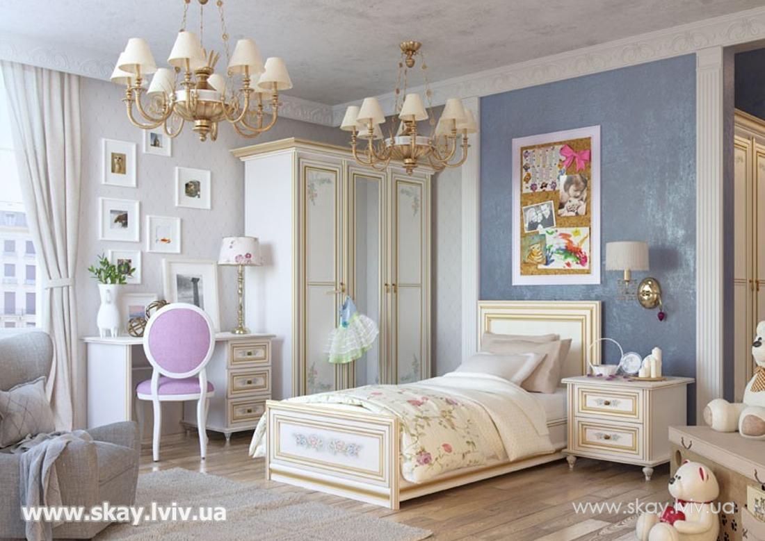 Ліжко 1-спальне (90х190) основа під матрац ДСП Принцеса